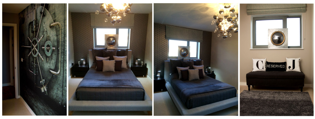 Master bedroom interior design and styling details by Moji Salehi at Moji Interiors in Hove.