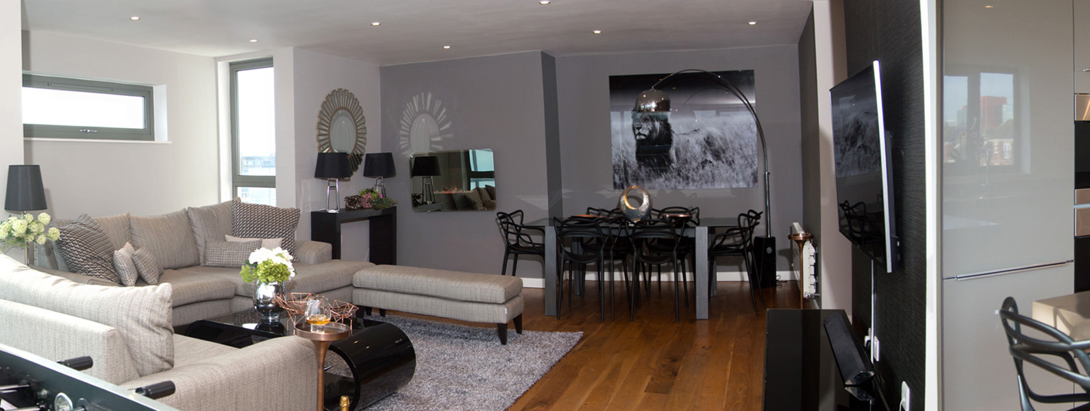 Living room interior design and styling details by Moji Salehi at Moji Interiors in Hove.