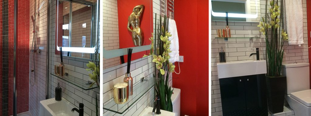 En-Suite interior design and styling details by Moji Salehi at Moji Interiors in Hove.